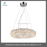 Luxury Brightness Imitation Crystal Round Pendant