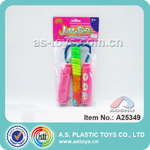 wholesale high quality funny plastic jump ropes kids games indoor for children