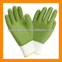 13G Green Latex Fully Dipped Puncture Resistant Safety Working Gloves