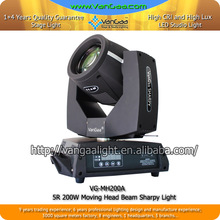 VanGaa 5R sharpy beam 200 price moving head stage light Cheap moving head lights