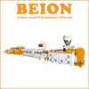 BEION plastic machinery dual stand PVC Pipe production line