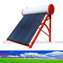 jiaxing heat pipe integrated pressurized solar water heater