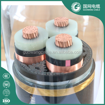 High Quality Xlpe Insulated Power Cable Underground Armoured Cable Three Phase Cable 70mm 2 Bare Copper Conductor from China