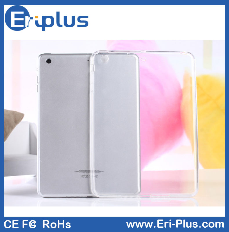 Colors Transparent TPU Clear Case For iPad Mini 1/2/3/4
