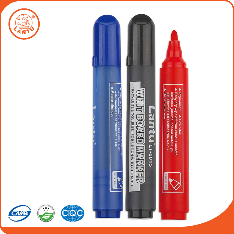 Lantu Promotional Colored Washable Ink Fabric Medium Textile Marker Pen