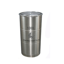 Professional Waterproof 100L straight stainless steel milk barrel