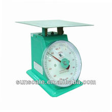 60/100/150 Kilogram Flat Stainless Plate Spring Mechanical Weighing Scale