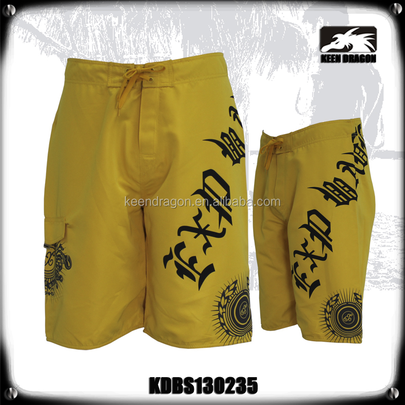 Bright Yellow Mens Leisure Surf Clothing in Wetsuits