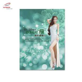Custom Printing Indoor / Outdoor Advertising Paper Poster, Paper Lamination Poster