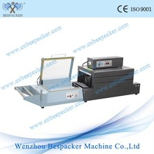 Small L bar sealing and shrink wrapping packing machine price