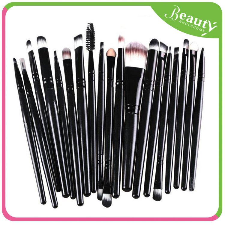 private label makeup brushes set ,H0T045 promotional makeup brush , angled brow brush