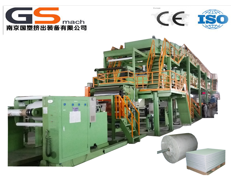 environmental PE/PP+CaCO3 stone paper production line