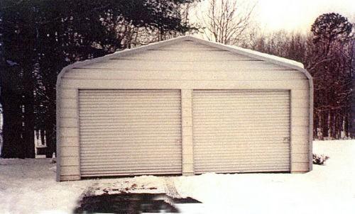 Bajo costo de metal acero garaje garaje barato garajes for 30x40 costo del garage
