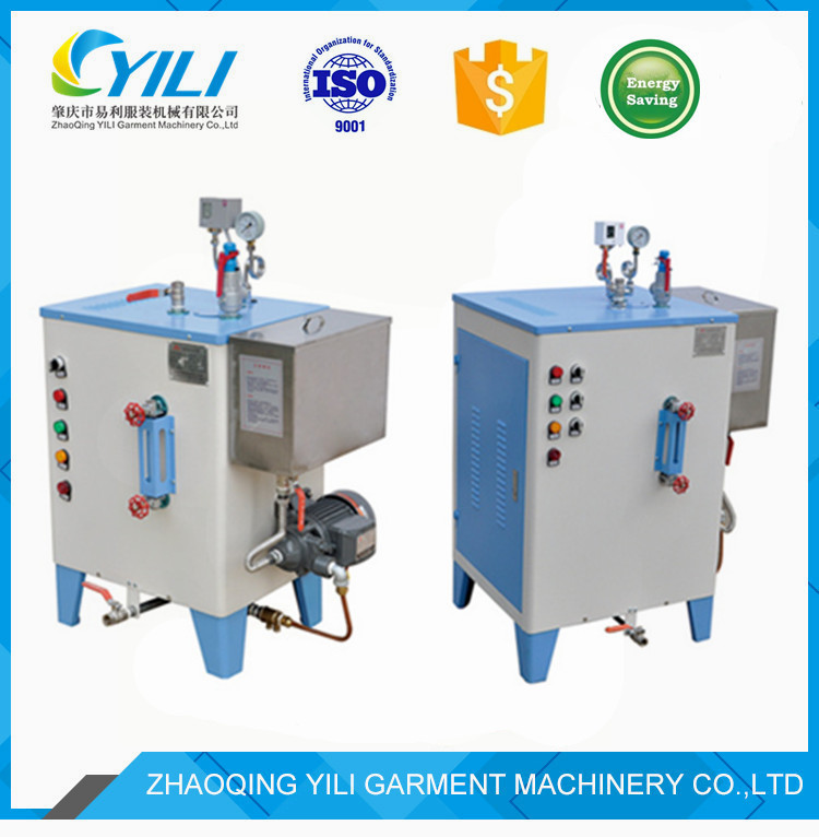 ISO CE electric laundry steam water boiler for food steam room