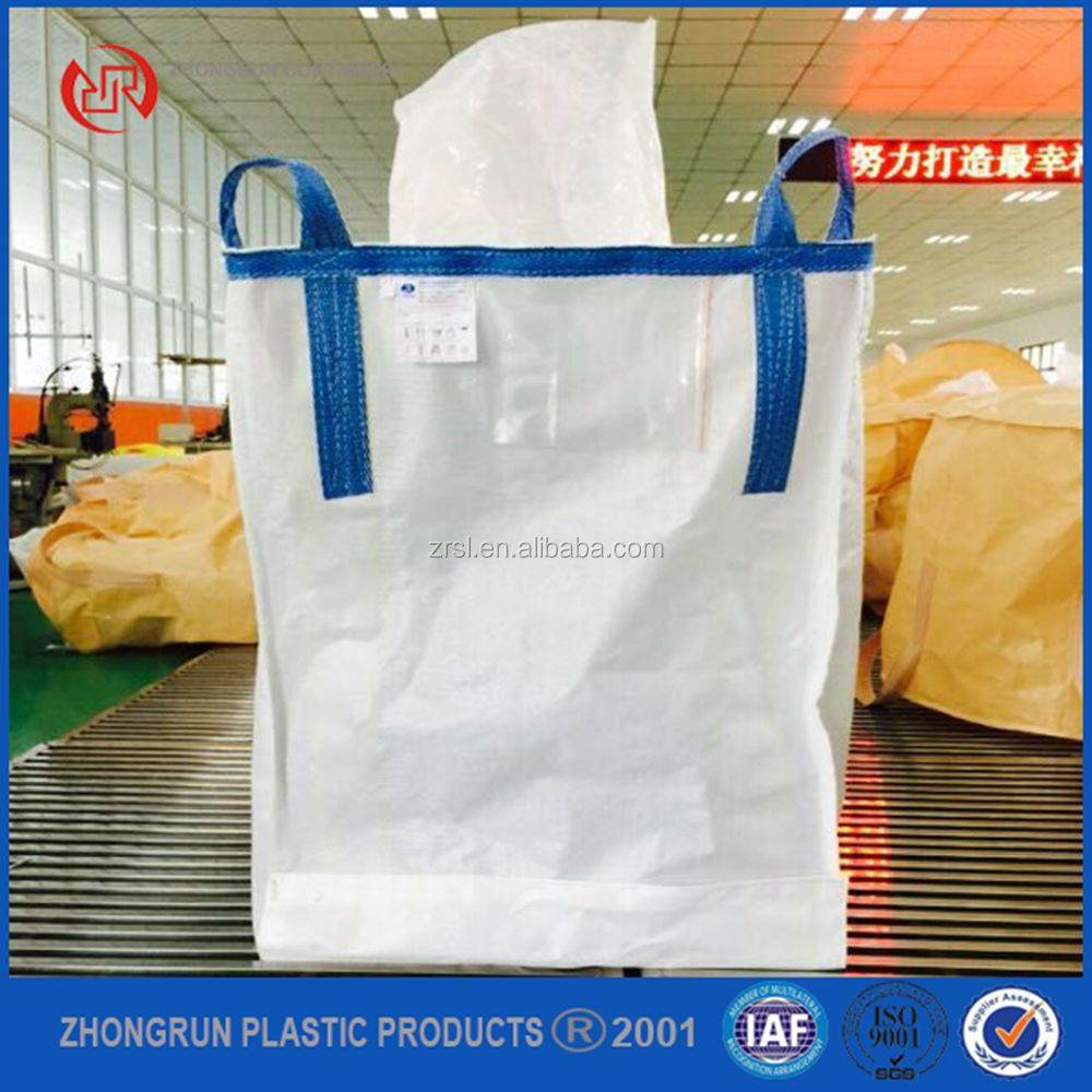 White pp jumbo big bag with PE liner/ bulk bag for sugar, food , flour super sacks