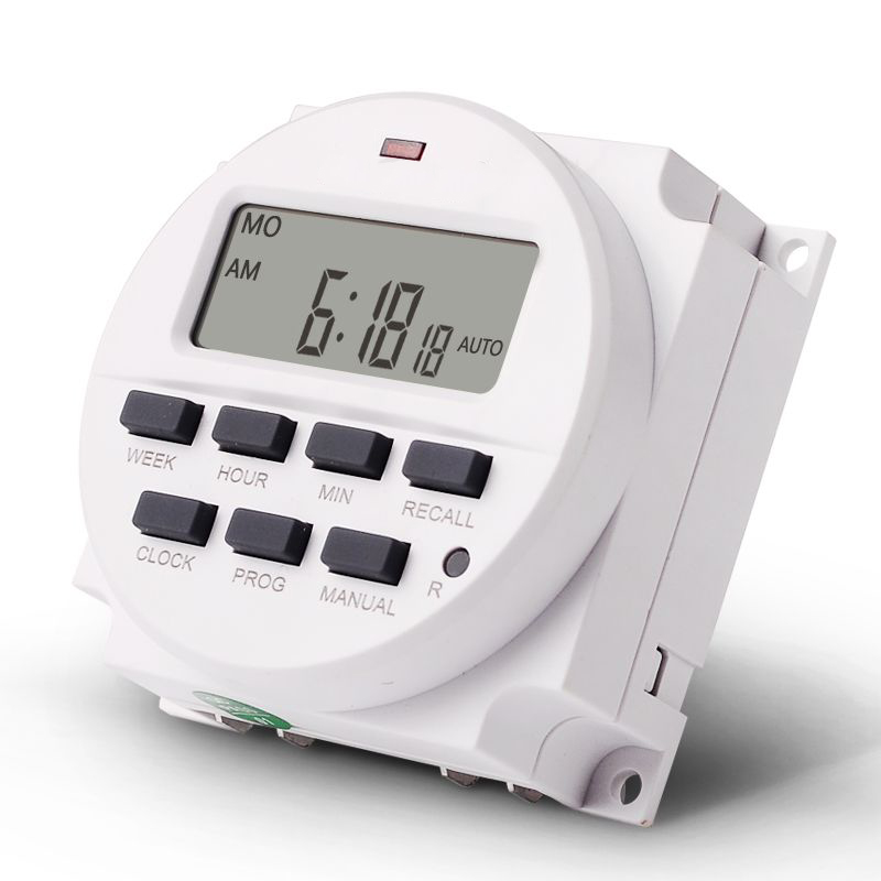 BIG LCD 15.98 inch Digital 220V AC 7 Days Programmable Timer Switch with Relay inside and Countdown Time Function