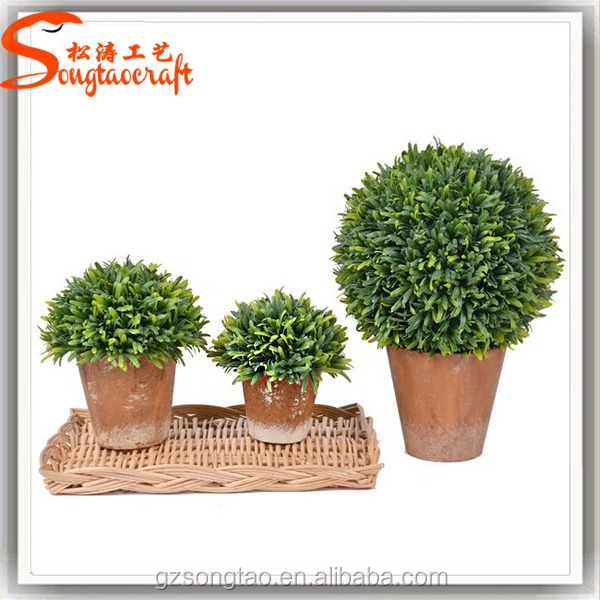 Artificial Topiary Trees Cheap Part - 40: Fake Topiary Tree Part - 42: Outdoor Artificial Fake Plastic Green Grass  Trees Evergreen Plants