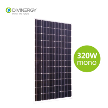 Grade A high efficiency IEC 61215 certified 320W Mono solar panel