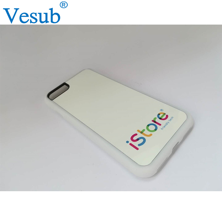 For Iphone 8 Sublimation Blank Phone Case 2D fashion tpu cases for iphone 6