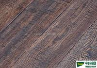 Rustic handscraped engineered oak engineered wood flooring wide plank durable