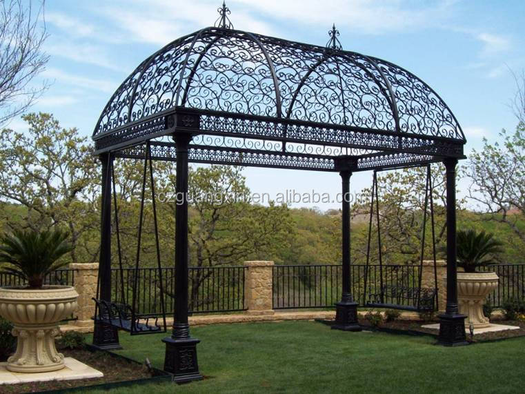 Metal Gazebos for Sale, Wrought Iron Gazebo, Wrought Iron Garden Gazebos