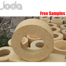 Thin Round Curved Kiln Refractory Clay Fire Bricks Price for Boiler
