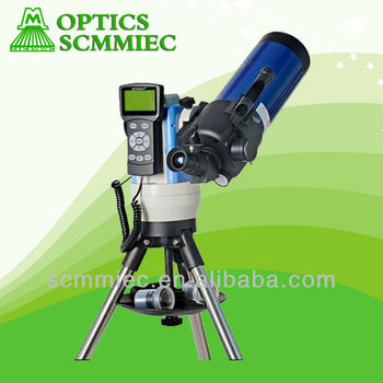 GMC90 90*1200mm High resolution GPS Auto Tracking auto red dot star finder maksutov refractor GOTO telescope