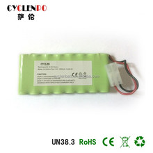 Manufacturer price Nimh AA 1800MAH 9.6V battery pack rechargeable battery
