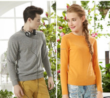 o neck crew neck universal coupling sweater design for couple lovers