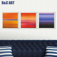 3 Panels Canvas Art Abstract Group Paintings Fine Art Print For Decorative Home