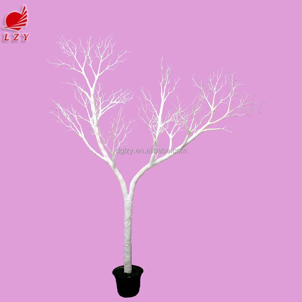 Arbol de navidad de coral rama de un rbol artificial for Arbol artificial decoracion