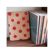 2017 wholesale a4 a5 kraft paper travel notebook