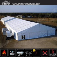 35x100m Giant Outdoor warehouse Tents with AC ventilation system for workshop
