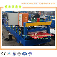 XN-850 corrugated metal sheet roofing machinery
