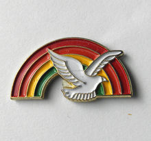 cheap custom soft enamel metal bird badge printing lapel pin
