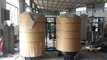 sand filter carbon filter pretreatment for water purification