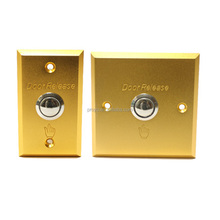 Aluminum alloy door release push button or switch with led lamp PY-DB15