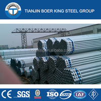 ASTM A53/BS1387-1985/ASTM A500/DIN/GB/T3091/GB/T21835 Hot Rolled Galvanized Steel Pipe