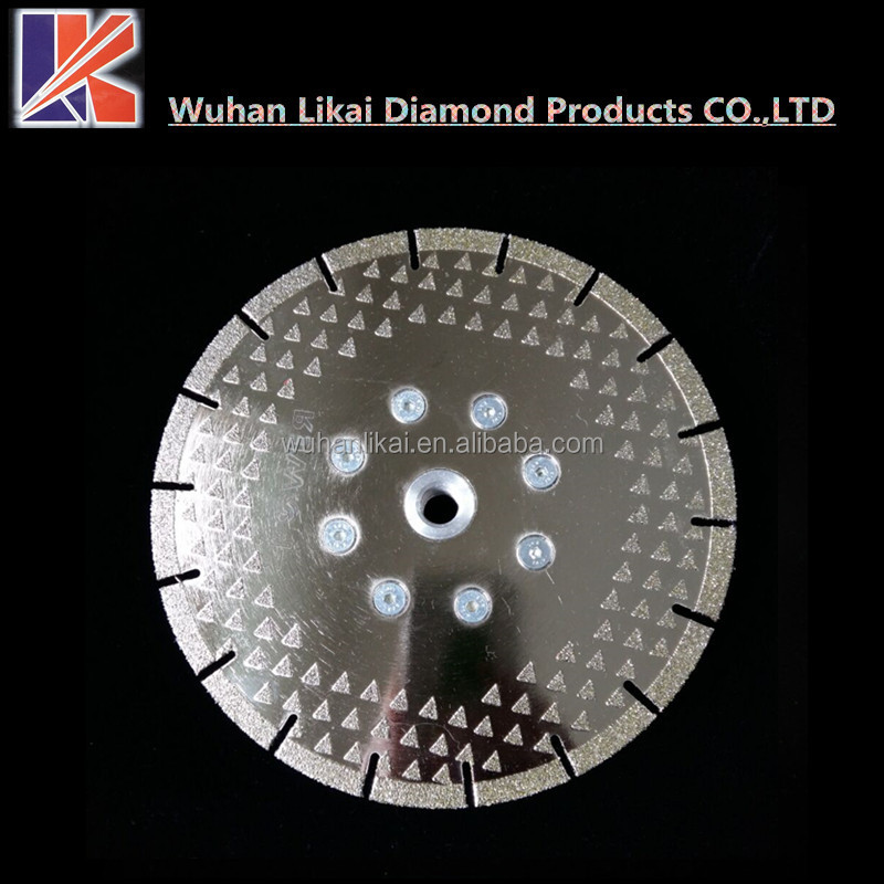 "4.5""/7""/9""electroplated diamond saw blade for stone cutting Blade"