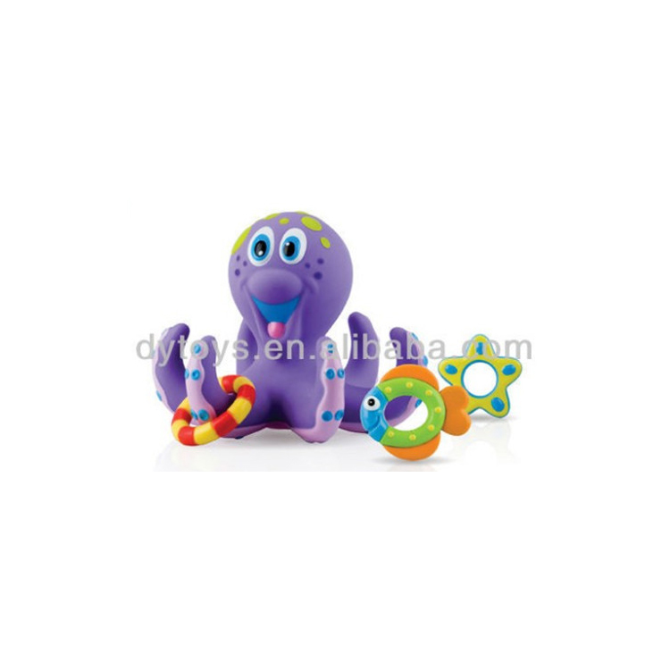 plastic shower toys octopus bath toy soft toys for baby