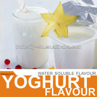 Yoghurt flavour in ice cream