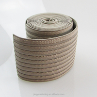 10cm extral wide durable polyester elastic band rubber upholstery webbing