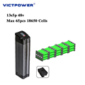 Lithium battery 48v 17ah 13s5p 816wh electric bicyle battery pack victpower