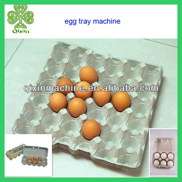 semi-automatic and automatic paper egg tray making machine