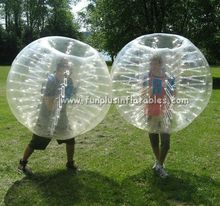 hot sell inflatable bubble football/ bubble ball / soccer bubble suit F7031