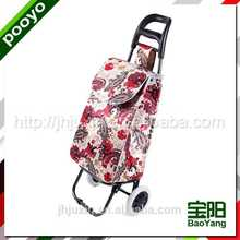 hand trolley luggage party advertising bag