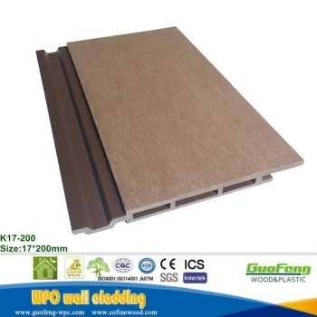 Waterproof Wood Plastic Composite Decorative WPC Wall Panel