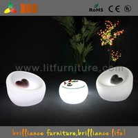 modern lights led plastic modern lobby sofa design