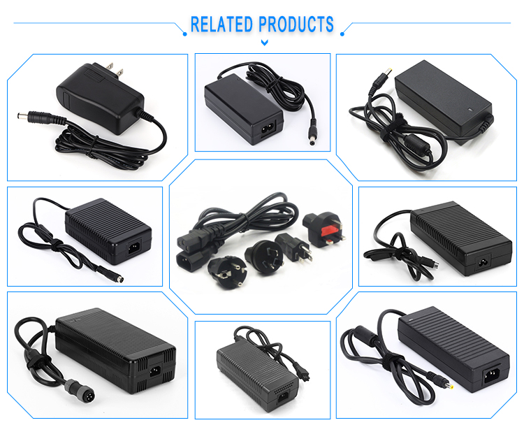 100-240vac to 28.8v dc power supply 28.8 volt 0.5a 500mA 14.4w ac power adapter