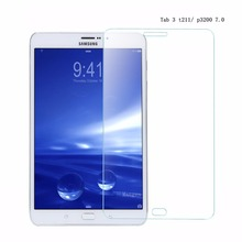 Tablet Screen protector 9H Hardness glass for Samsung galaxy Tab 3 7.0 inch